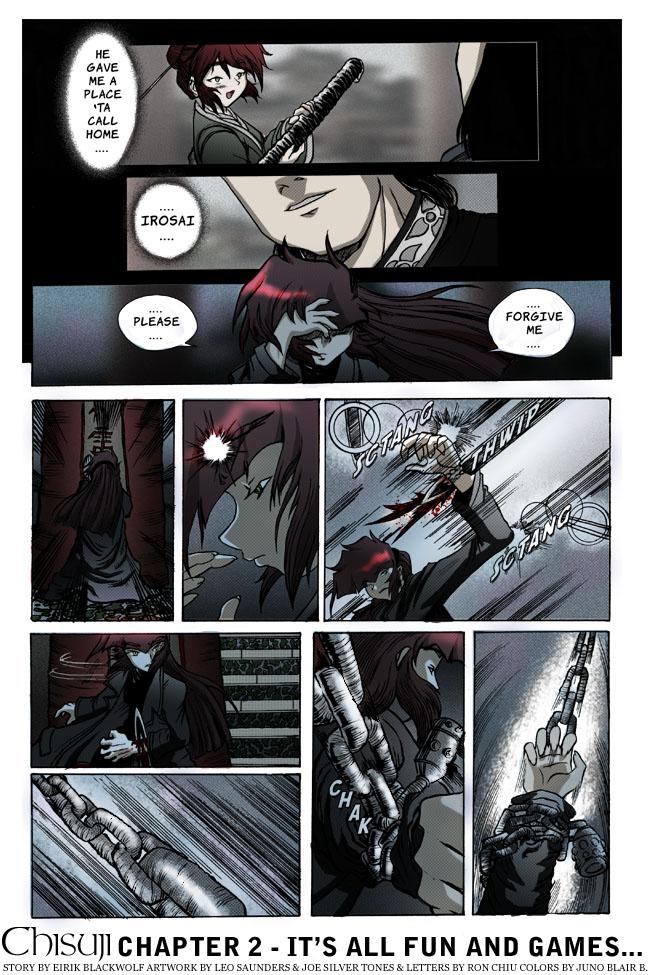 Chisuji – Chapter 1 – Page 33