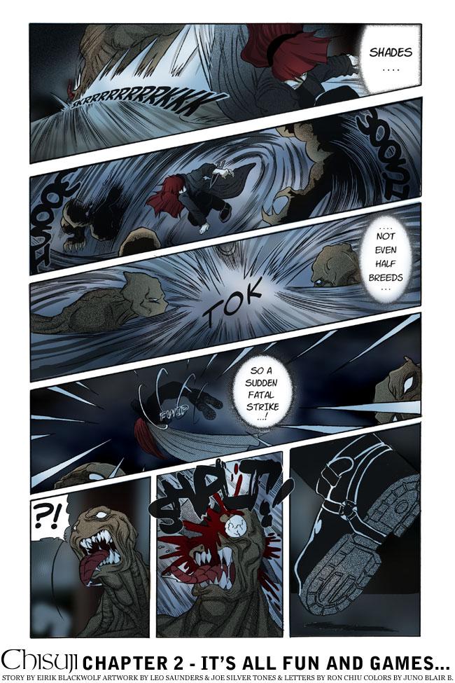Chisuji – Chapter 2 – Page 12