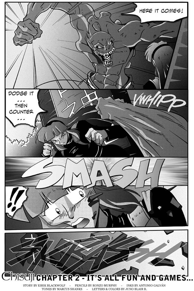 Chisuji – Chapter 2 – Page 22